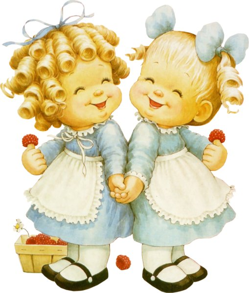 Поздравления с днём рождения близняшек девочек